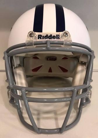 2012 Dallas Cowboys Game Used Riddell Revo IQ Throwback #40 Danny McCray