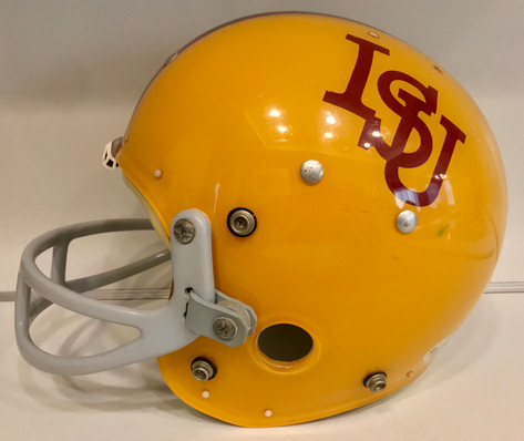 1970s Iowa State Cyclones MacGregor 100MH Clear Shell Football Helmet