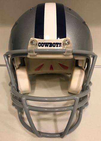 2015 Dallas Cowboys Game Used Riddell Revo IQ #63 Casey Walker
