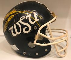 1986 Wichita State Shockers Game Used Bike AiR Power Football Helmet
