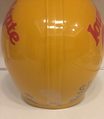 1980s Iowa State Cyclones Game Used Maxpro Super Pro Clear Shell Football Helmet