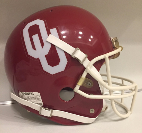 1985 Oklahoma Sooners AHI AiR Power Football Helmet