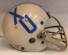 1960's Xavier University MacGregor 100MH Clear Shell Football Helmet