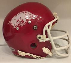 1978 Arkansas Razorbacks Kelley 100MH Football Helmet