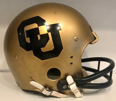 1977-1978 Colorado Buffaloes Game Used Riddell TAK-29 Suspension Football Helmet