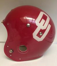 1968 Oklahoma Sooners Brunswick/MacGregor 100MH White Stripe Prototype Helmet