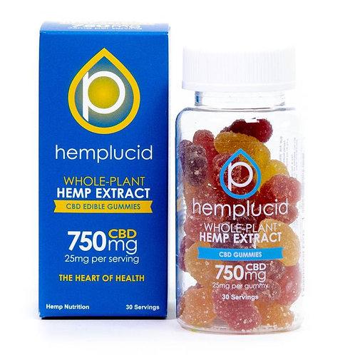 Hemp Lucid Edible Full-Spectrum CBD Gummies - 30 Count (25mg CBD each)