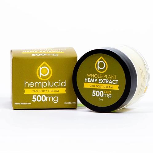 Hemp Lucid Full-Spectrum CBD Body Cream