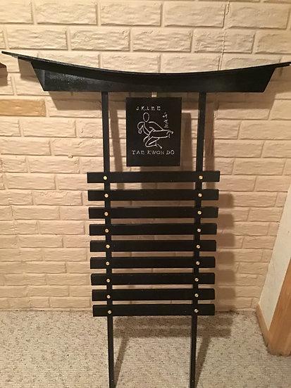 Gloss belt rack