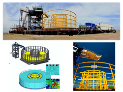 Turntable and Loading Arm for submarine cable installation