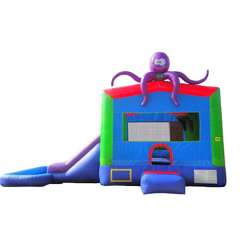 Octopus Bounce House Combo