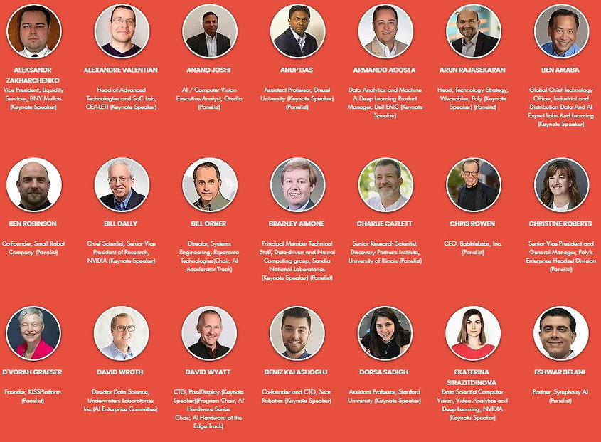 Key Speakers AI Expo 2020
