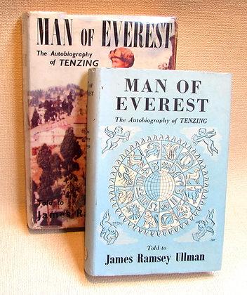 Norgay, Tenzing and Ullman, James Ramsey - MAN OF EVEREST