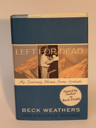 Weathers, Beck (with Stephen Michaud) - LEFT FOR DEAD