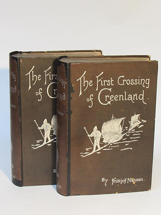 Nansen, Fridtjof - THE FIRST CROSSING OF GREENLAND
