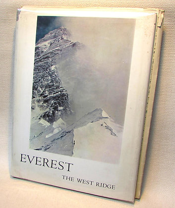 Hornbein, Thomas - EVEREST: THE WEST RIDGE