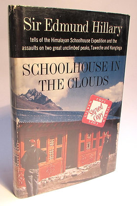 Hillary, Sir Edmund - SCHOOLHOUSE IN THE CLOUDS