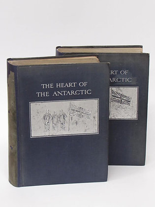 Shackleton, Ernest - THE HEART OF THE ANTARCTIC