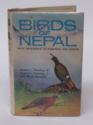 Fleming, R.L. Sr.; Fleming, R.L. Jr.; Bangdel, Lain Singh. - BIRDS OF NEPAL
