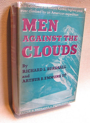 Burdsall, Richard and Emmons, Arthur - MEN AGAINST THE CLOUDS