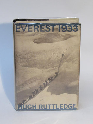 Ruttledge, Hugh - EVEREST 1933