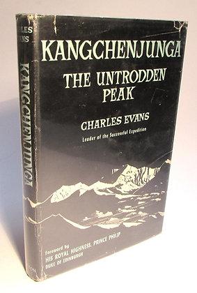 Evans, Charles - KANGCHENJUNGA THE UNTRODDEN PEAK