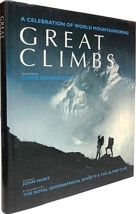 Bonington, Chris, and Salkeld, Audrey (editors) - GREAT CLIMBS