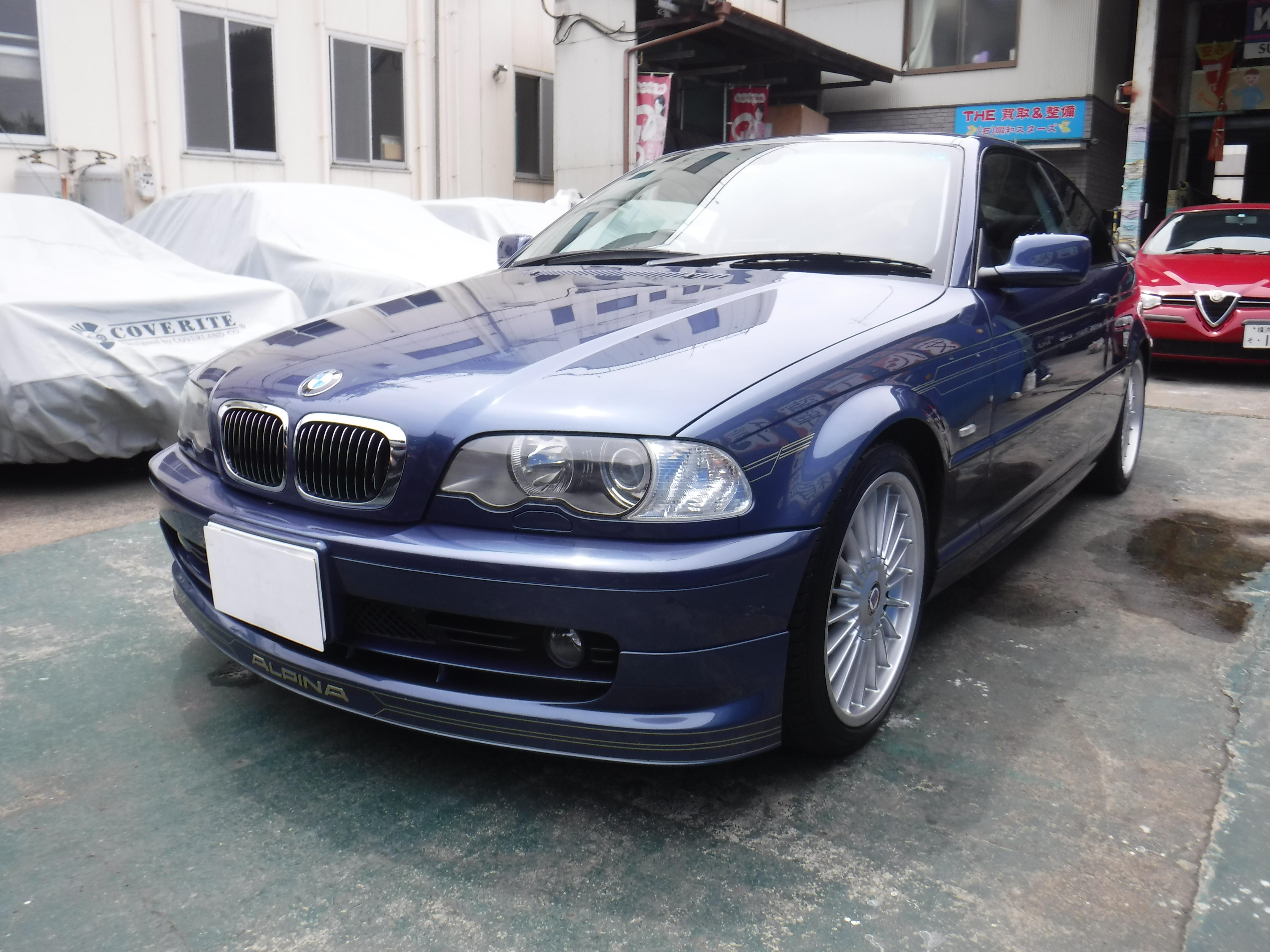 BMWアルピナ E46 B3クーペ