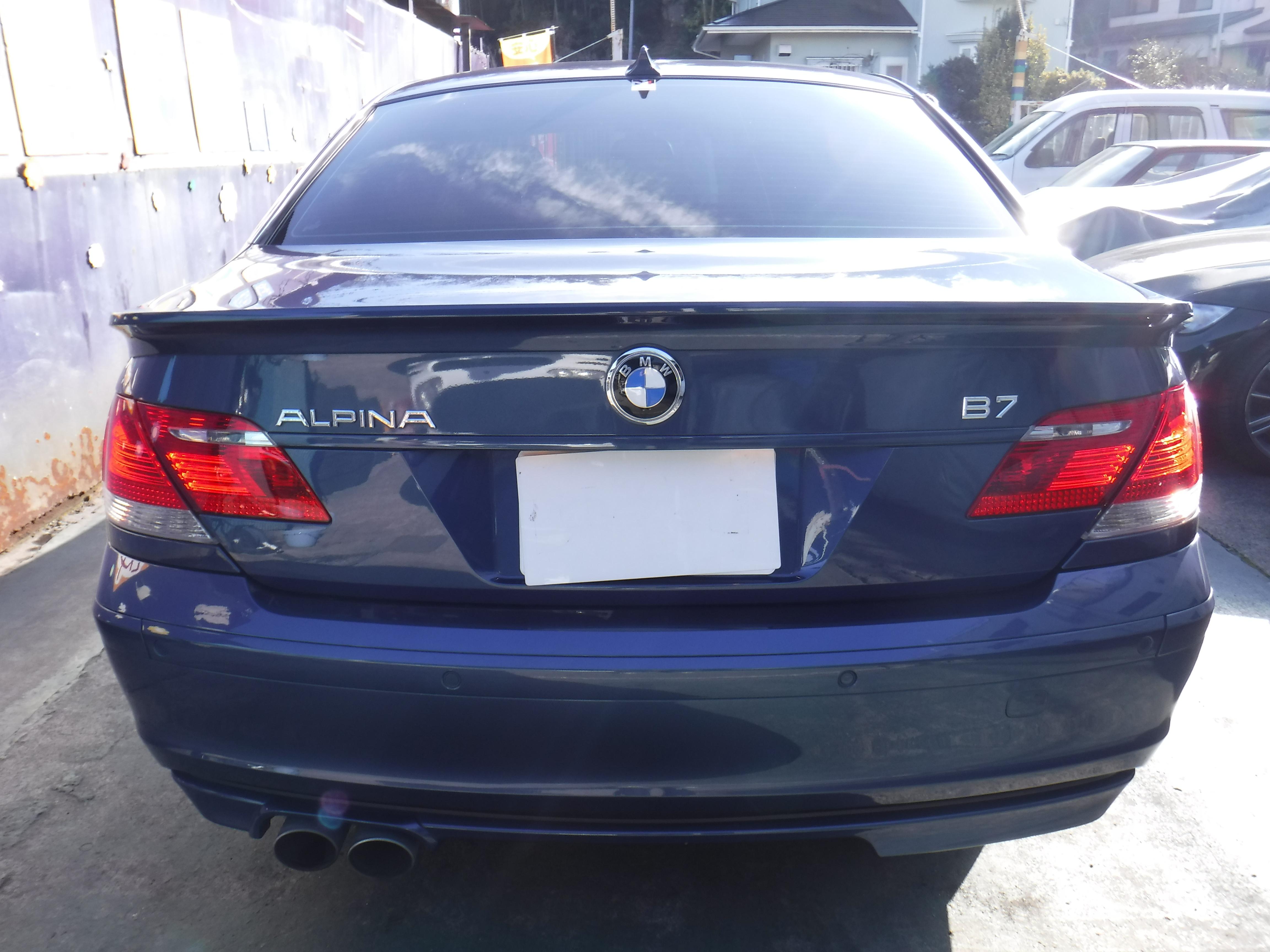 BMW ALPINA B7 スーパーチャージ