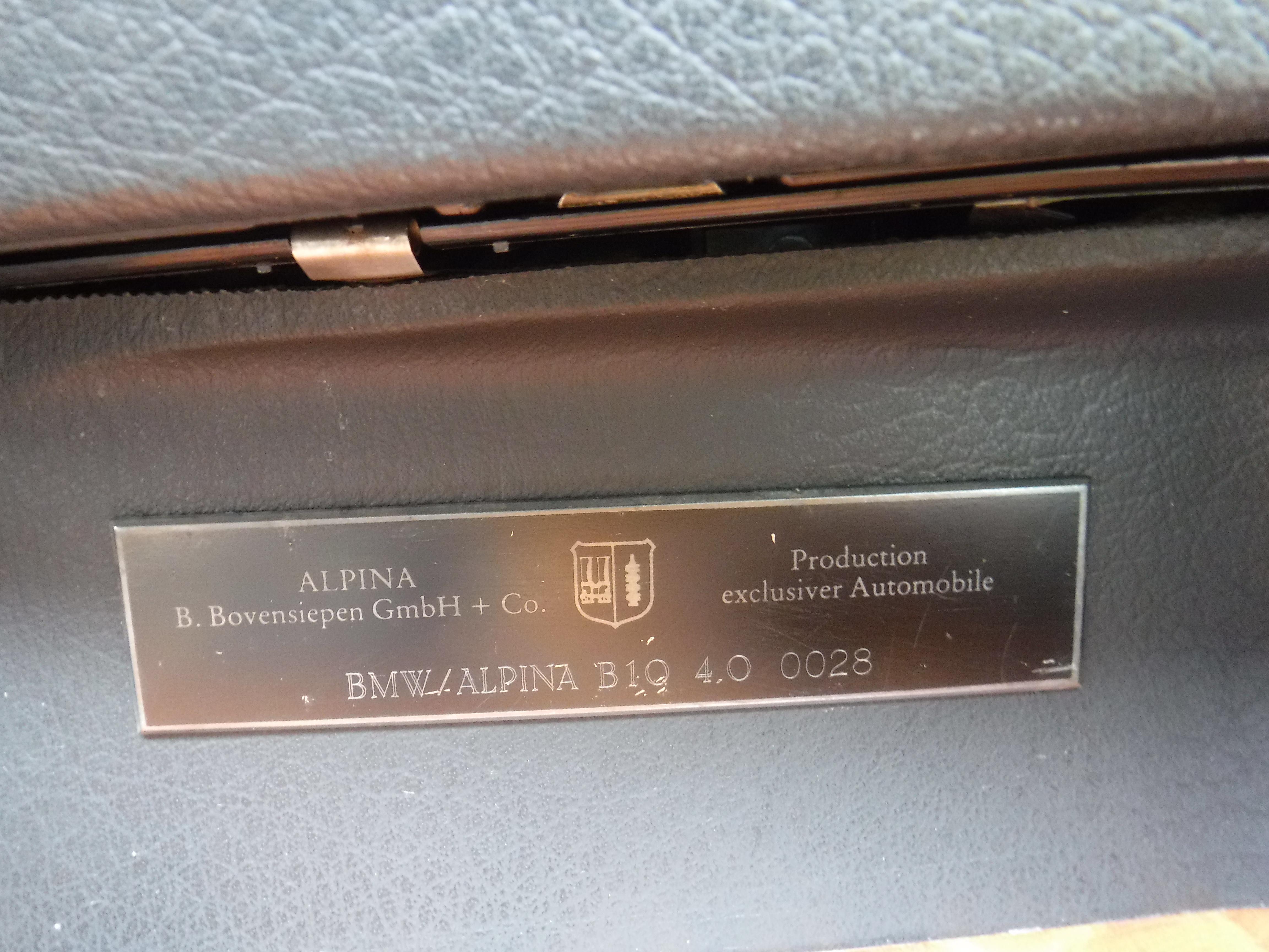 BMW ALPINA E34 B10 4.0