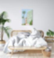 Bohemian style Scandinavian bedroom.jpg
