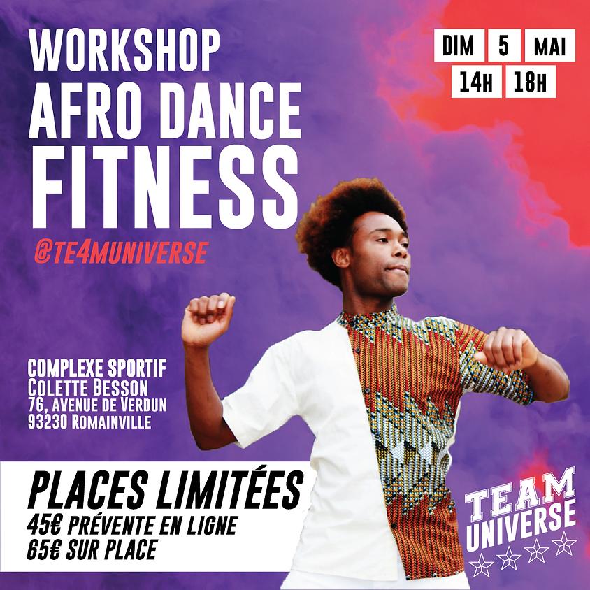 """Evenement Te4m Universe """" L'Afro workout de Zemario"""