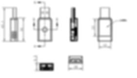 MDBT50Q-RX USB dimension.png