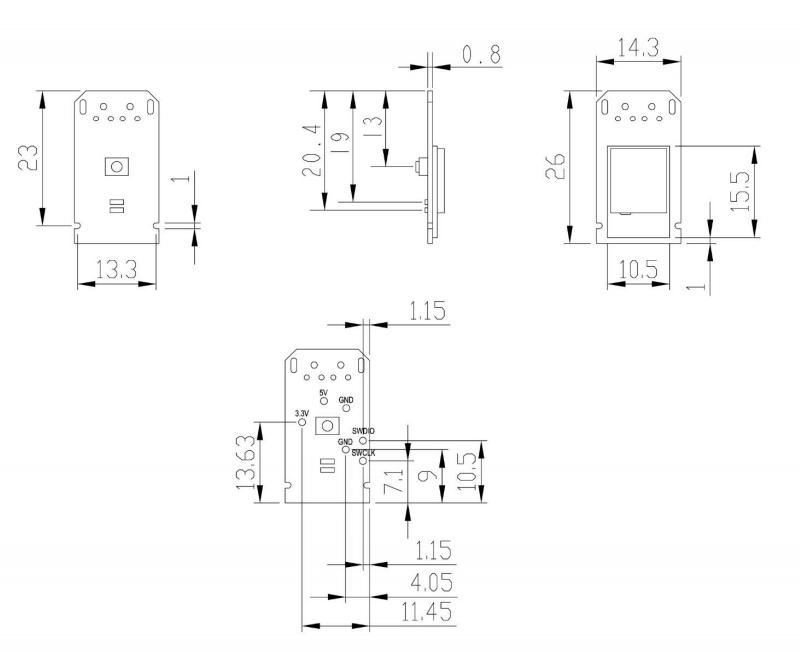 MDBT50Q-RX nRF52840 USB Dongle 출시