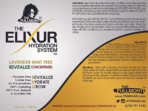 The Elixur Hydration System Lavender Mint Tree