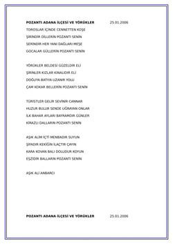 15 POZANTI ADANA İLÇESİ VE YÖRÜKLER-1