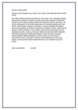 15 POZANTI ADANA İLÇESİ VE YÖRÜKLER-2