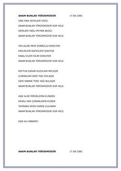 20 ANAM BUNLAR YÖRÜKMÜDÜR-1