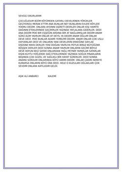 20 ANAM BUNLAR YÖRÜKMÜDÜR-2