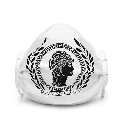 Paradeisos White Face mask