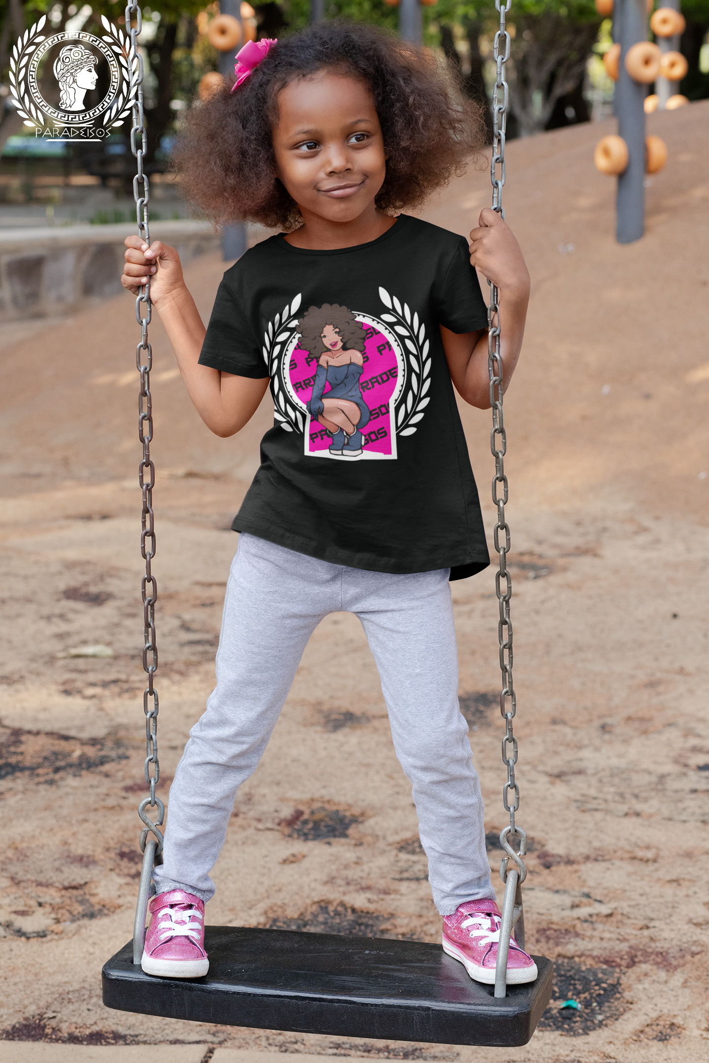 t-shirt-mockup-of-a-playful-girl-standin