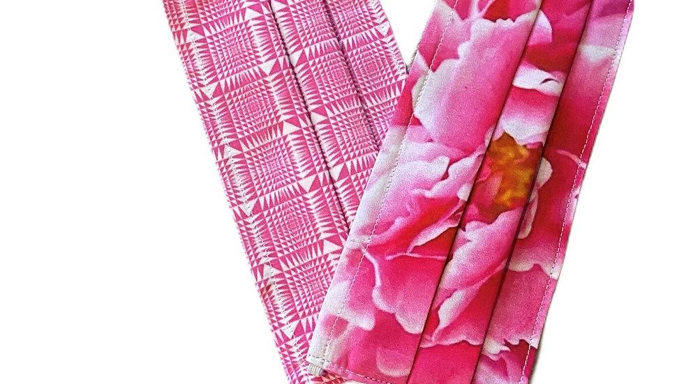 Coppia di Mascherine rosa