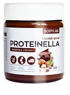 Proteinella chokolade smørrepålæg nutella fra bodylab