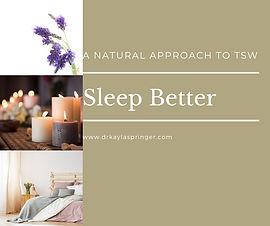 2. Maximize Sleep