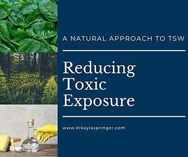3.  Reducing toxic exposure