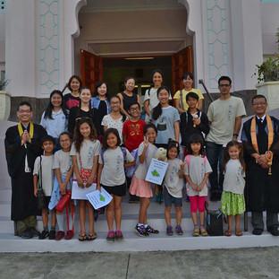 Jodo Mission of Hawaii Sunday Schools from Haleiwa and Honolulu