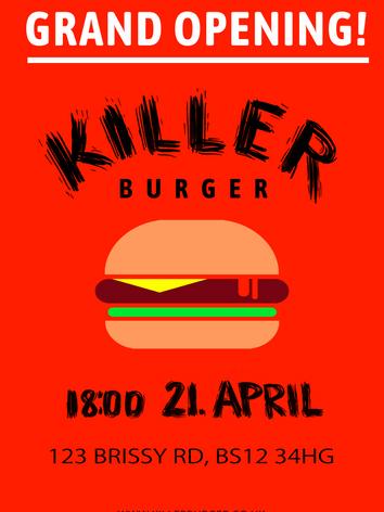 Killer Burger - Marilena Ness