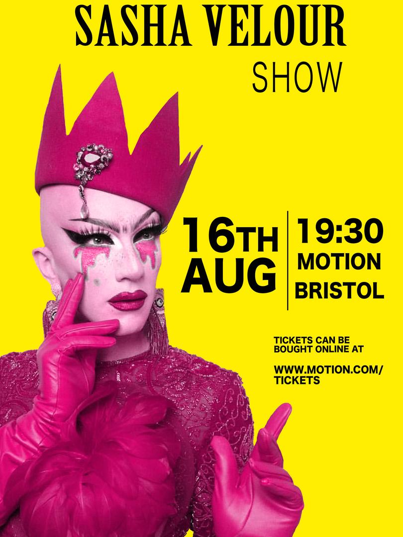 Sasha Velour Poster - Marilena Ness