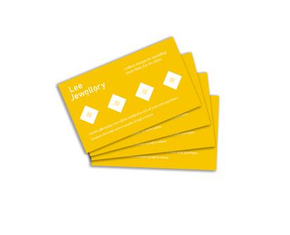Lee Jewellery - Loyalty Card