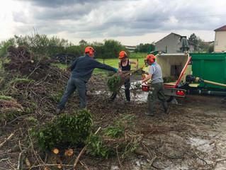 Réouverture de la décharge des déchets verts le 3 juin